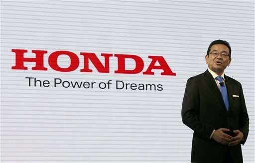 Honda rolls out fuel cell in Japan, to lease 200 first year