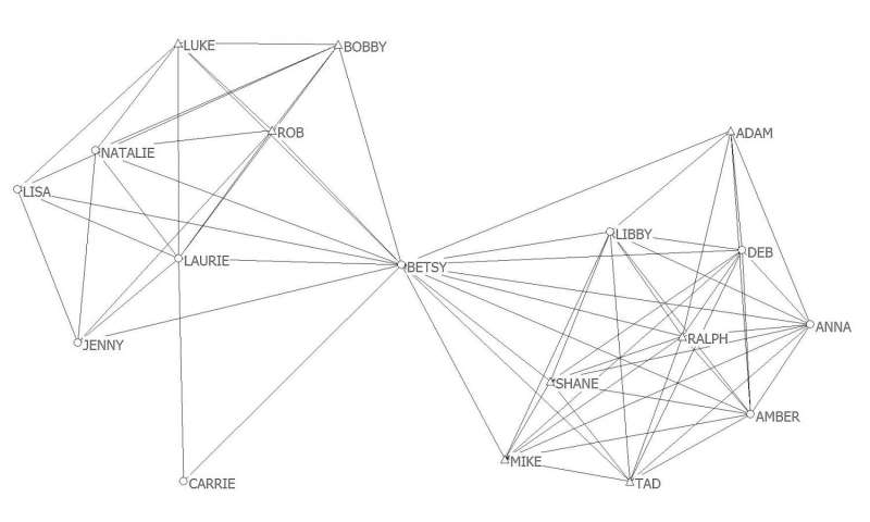 How friendship networks at college impact students' academic and social success