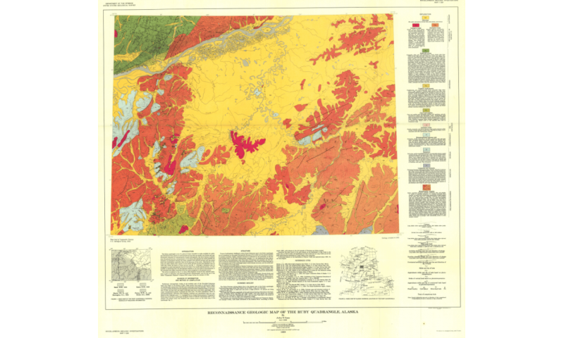 How we used a century of data to create a modern, digital geologic map of Alaska