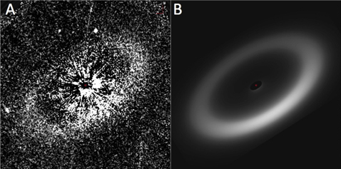 Hubble images three debris disks around G-type stars