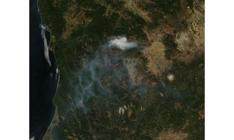 Image: Gap Fire in California slows growth