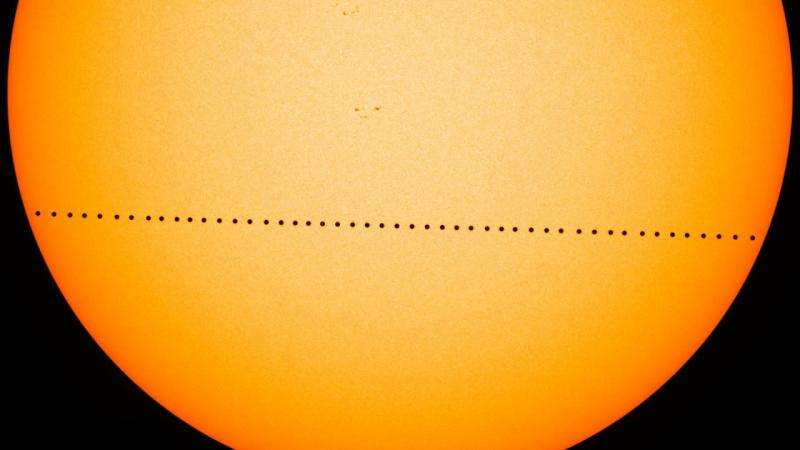 Image: Mercury transit