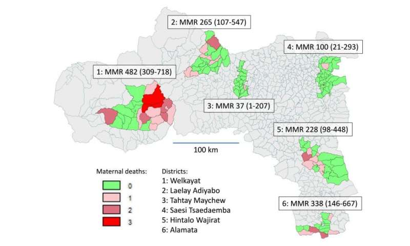 Innovative maternal health interventions reduce mortality in Ethiopia