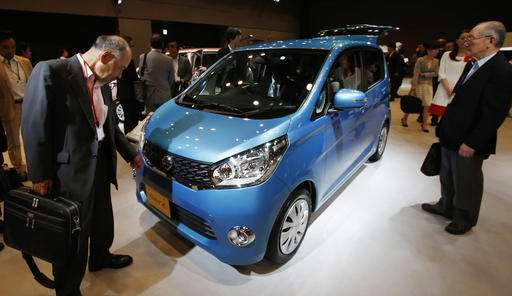 Japan's Mitsubishi Motors finds falsified fuel mileage tests