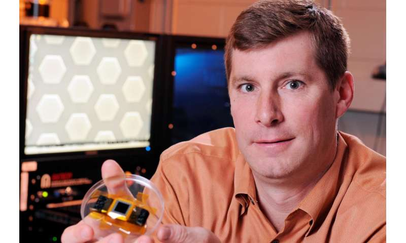 Light-trapping 3-D solar cells undergo space testing