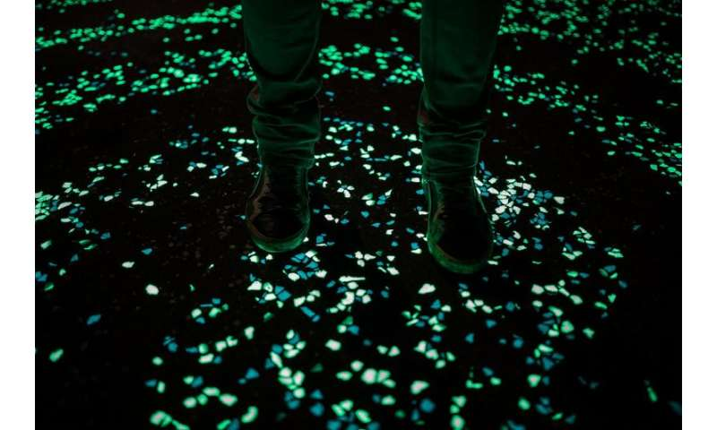 Looking to light highways with light-emitting cement
