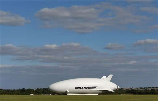 Maiden flight of giant helium-filled airship postponed