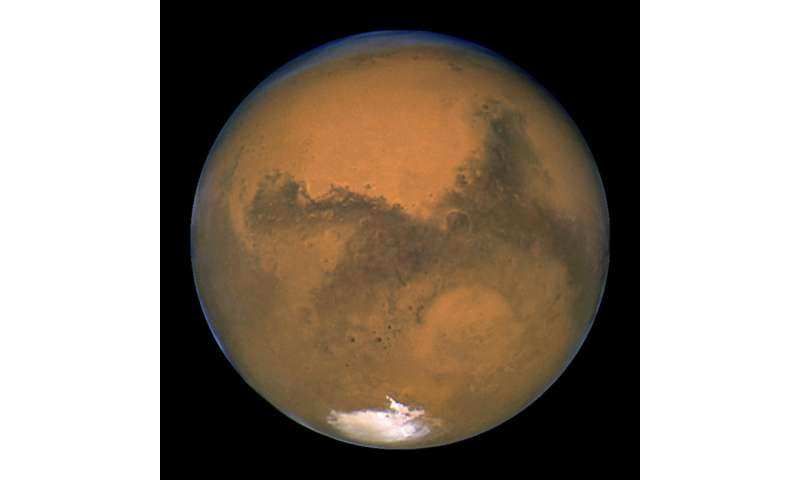 Mars, Earth, sun line up perfectly in sky this weekend (Update)