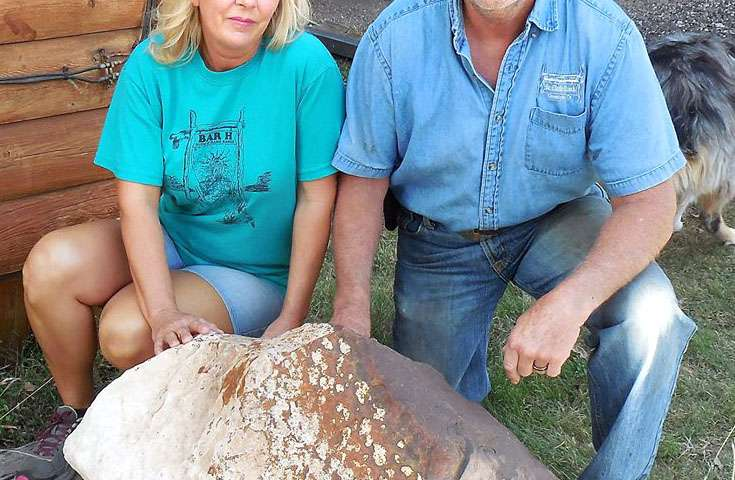 Monster meteorite found in Texas