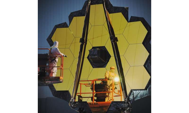 NASA completes Webb Telescope Center of Curvature pre-test