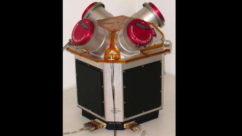 NASA microthrusters achieve success on ESA's LISA pathfinder