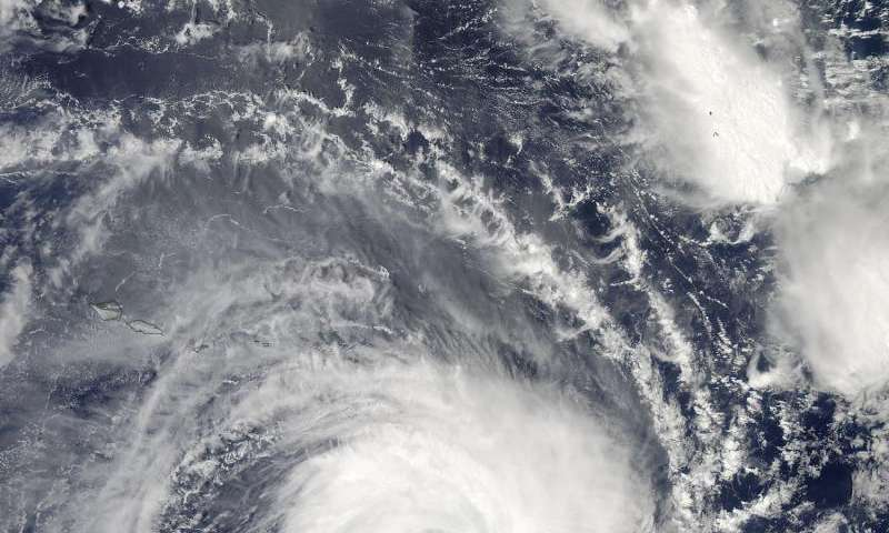 NASA sees wide-eyed Tropical Cyclone Victor