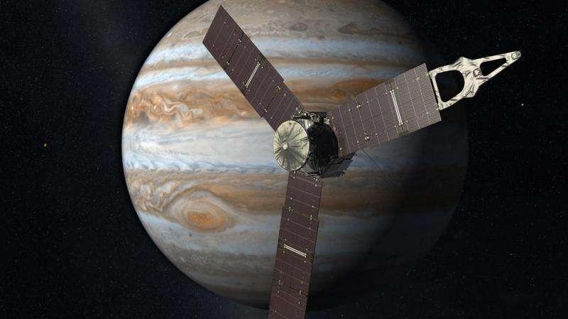 NASA'sJuno spacecraft burns for jupiter