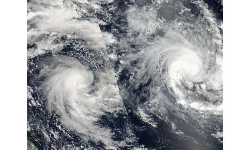 NASA's RapidScat spots newborn Tropical Cyclone Tatiana