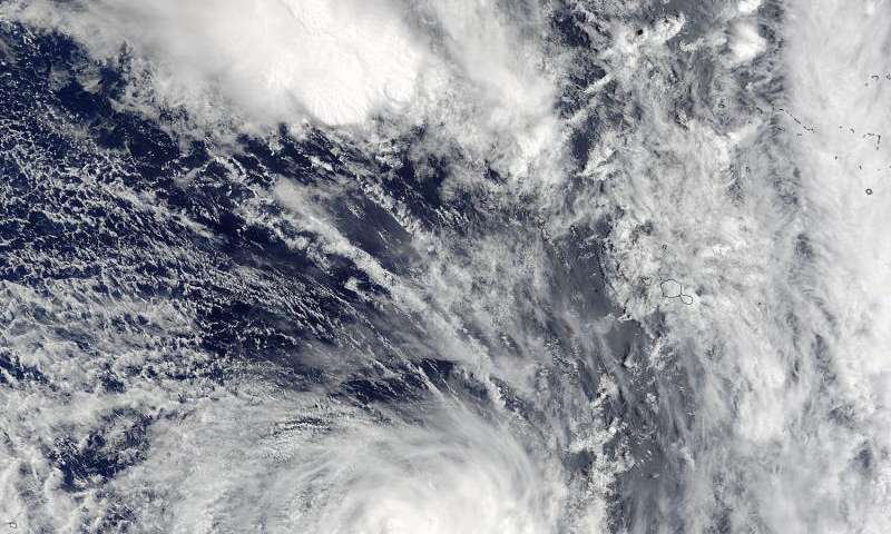 NASA's Terra satellite sees Tropical Cyclone Yalo coming to a quick end