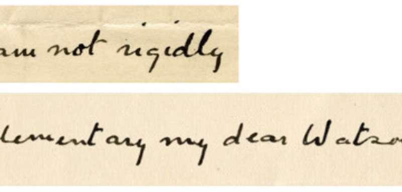 New computer programme replicates handwriting