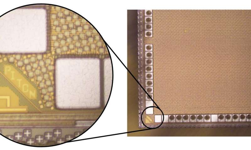 New microchip demonstrates efficiency and scalable design