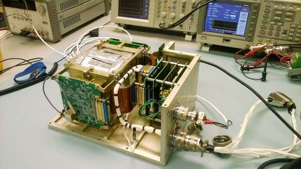 New neutron spectrometer design being tested for manned spaceflight