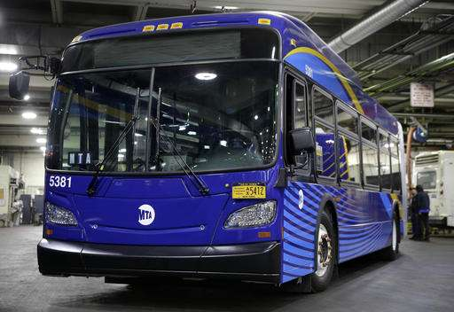 New NYC buses have Wi-Fi but no tech to avoid those on foot