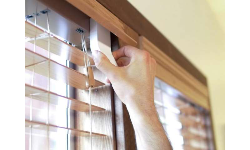 No, don't get up: These window blinds control light on their own