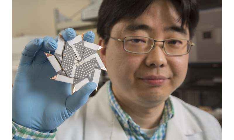 Origami ninja star inspires new battery design