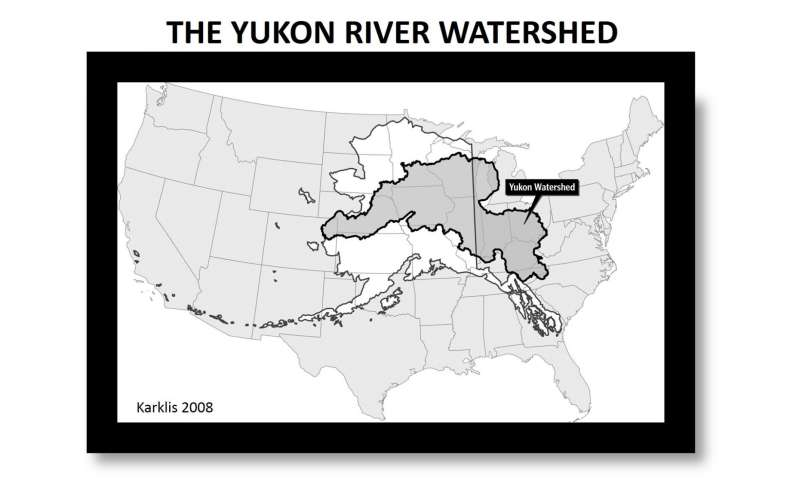 Permafrost loss changes Yukon River chemistry with global implications