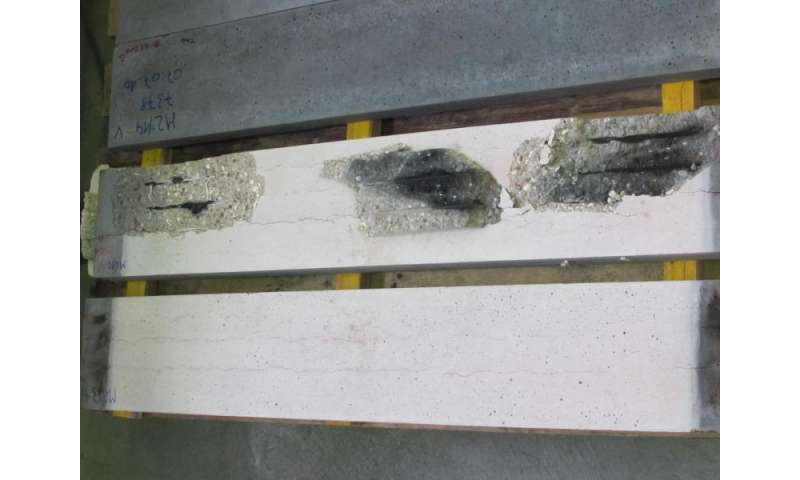 Polymers render concrete fire-resistant