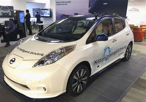 Renault-Nissan to introduce 10 self-driving vehicles by 2020