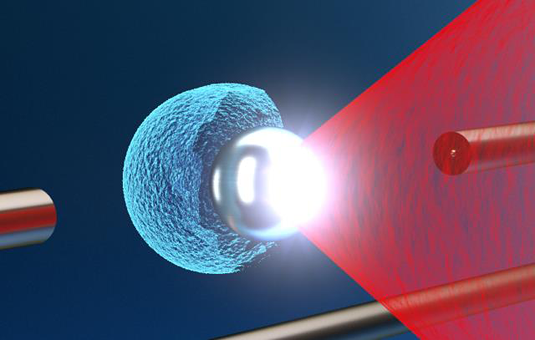 Researchers generate proton beams using a combination of nanoparticles and laser light