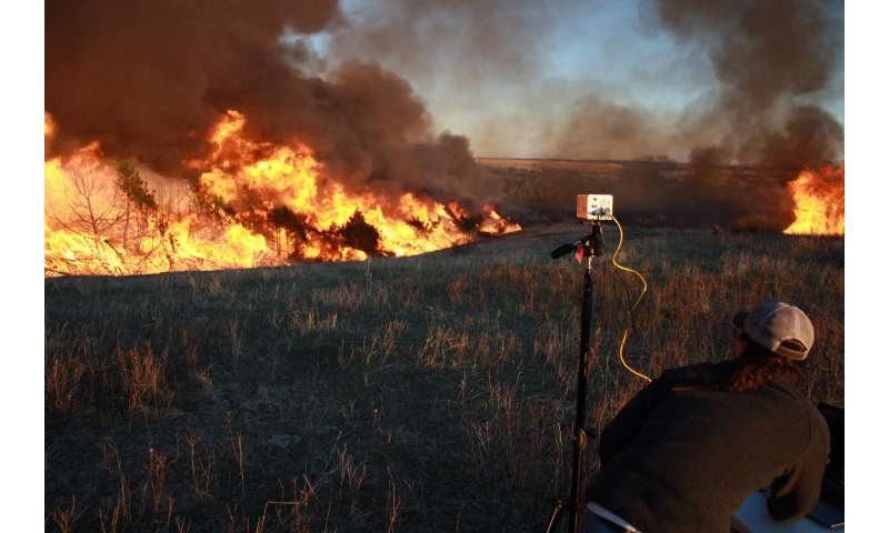 Restoring prairie and fighting wildfire with (drone launched) fire(balls)