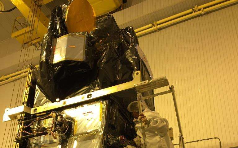 Sentinel-3A fully tanked
