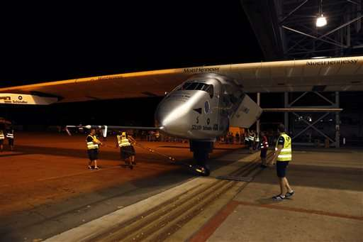 Solar plane pilot hopes to link to Silicon Valley's spirit