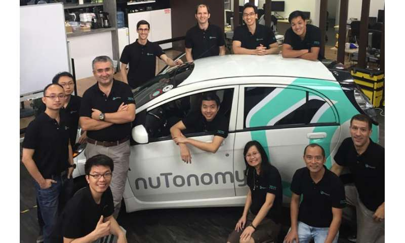 Startup bringing driverless taxi service to Singapore