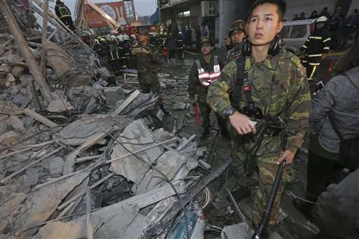 Strong quake hits Taiwan; 221 people pulled out from rubble