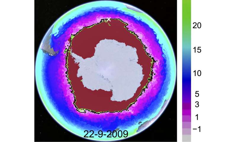 Study helps explain sea ice differences at Earth's poles