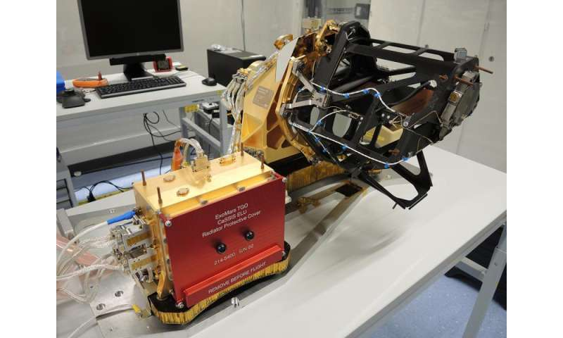 Swiss camera to launch to Mars