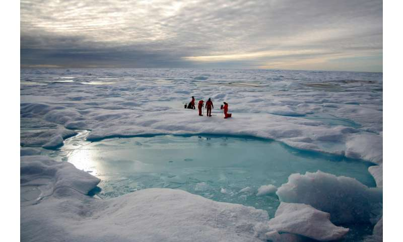 Technique could assess historic changes to Antarctic sea ice and glaciers