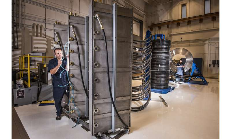 Thor's hammer to crush materials at 1 million atmospheres