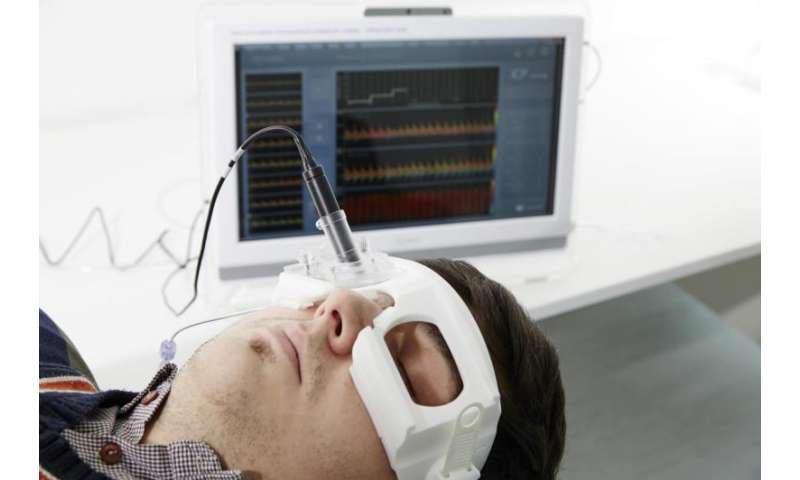 Ultrasound to safely measure brain pressure