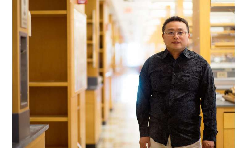 UMMS scientist designs lamp light operative photodynamic molecules for tumor therapy
