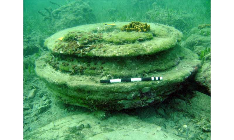 Underwater 'lost city' found to be geological formation