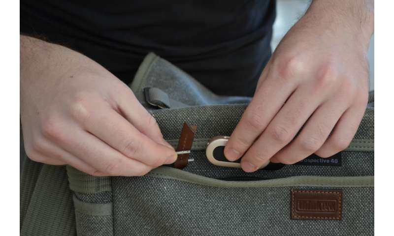 [Video] Innovative alarm protects your bag