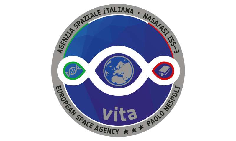 Vita: next Space Station mission name and logo