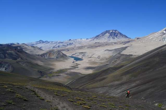 Walking in the Shadow of a Great Volcano