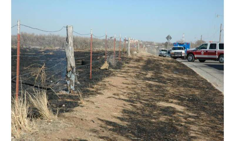 Wildfire dangers increase with high winds, lack of moisture