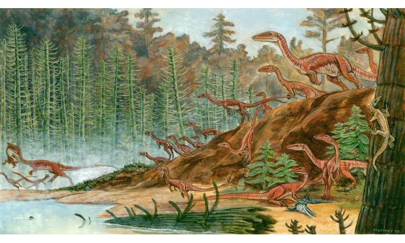 Virginia Tech geoscientists size-up early dinosaurs, find surprising variation