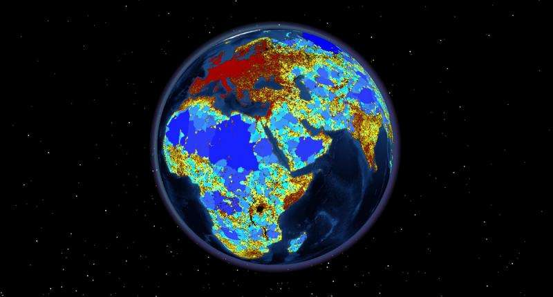Researchers find roads shatter the Earth's surface into 600,000 fragments