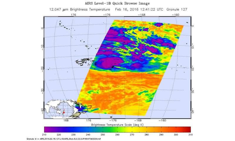 NASA sees Tropical Cyclone Winston threatening Tonga and American Samoa
