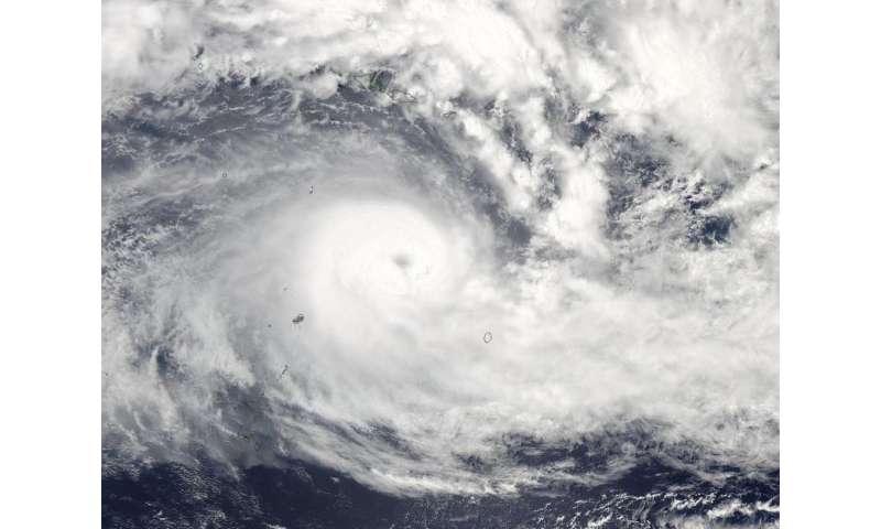 NASA sees Tropical Cyclone Winston intensifying near Tonga