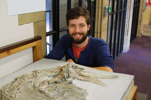 New species of Jurassic reptile identified from skeletal remains on display in Bristol